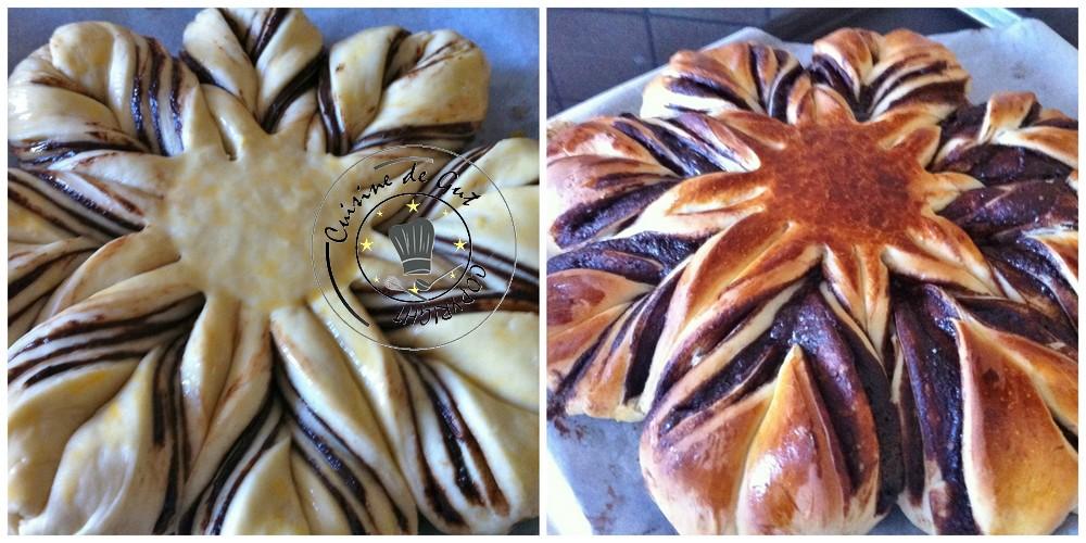 Brioche étoilée pate noisette chocolat 5 jpg