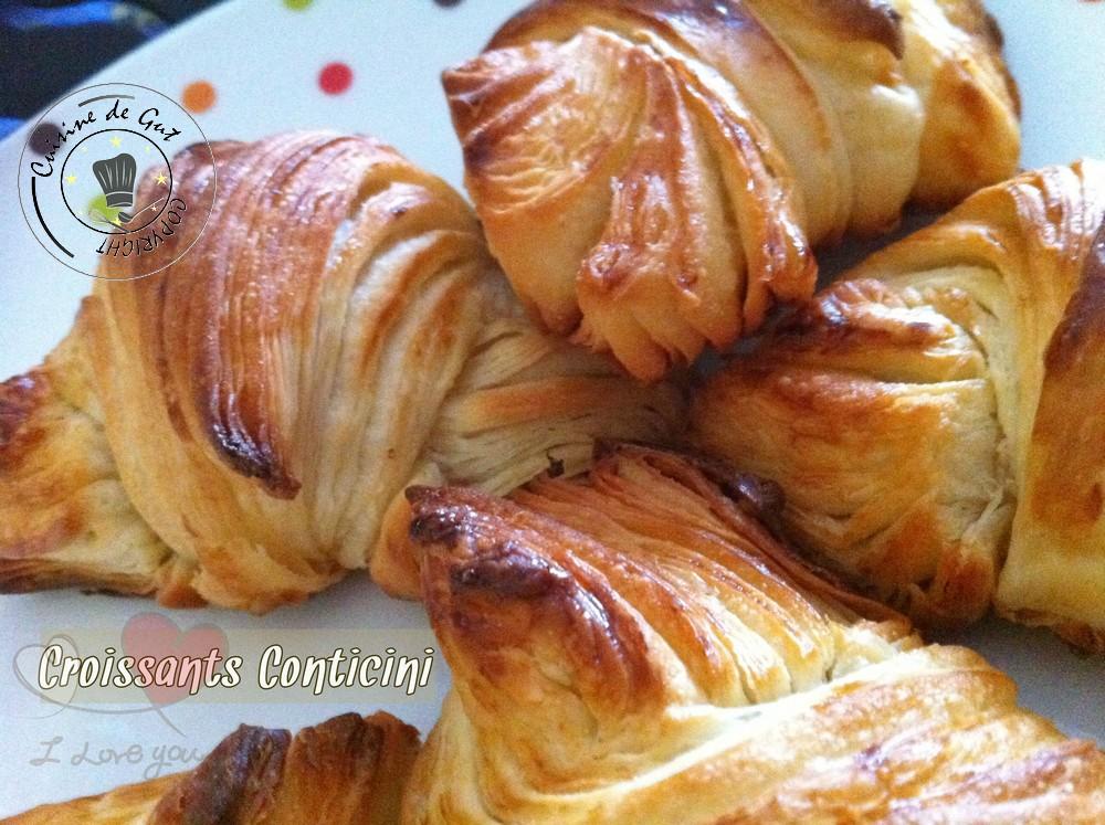 Viennoiseries conticini Croissants