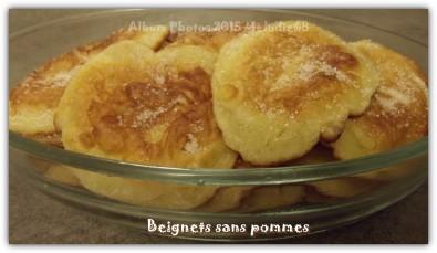 Beignets aux pommes les gourmandises de mélodie68