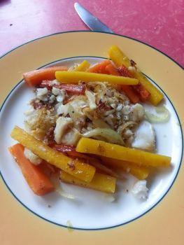 Cabillaud carottes cumin GERALDINE