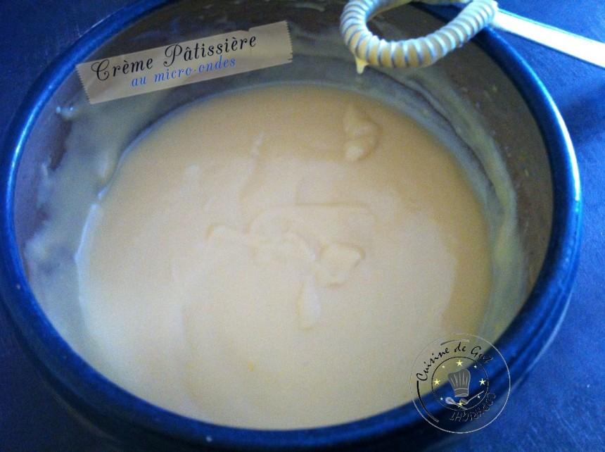 Crème pâtissière micro ondes