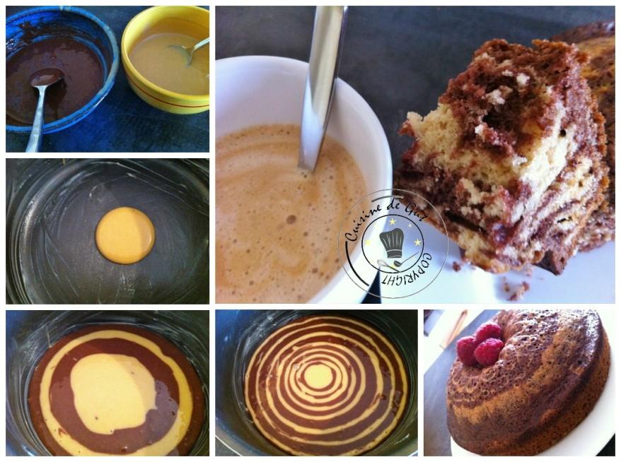 zebra cake collage