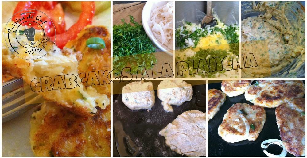 Crabcakes collage