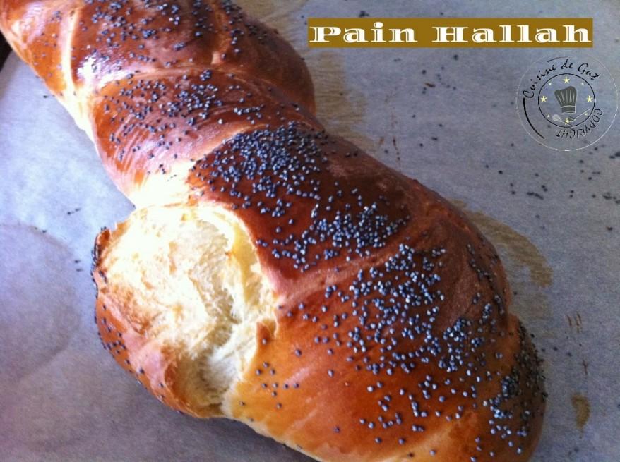 Pain Hallah entier