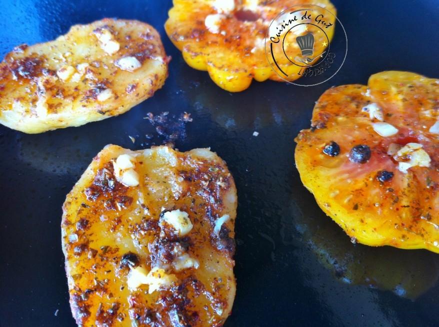 Brochettes de rognon de veau pic es la plancha cuisine de gut - Duree cuisson cote de boeuf ...