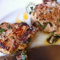Plancha de filet mignon sauce Chimichurri