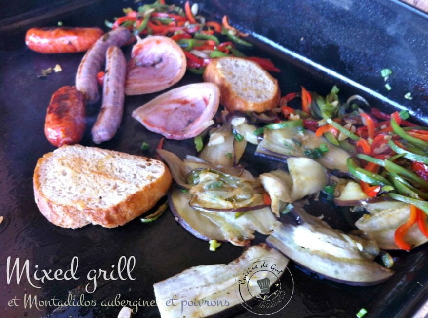 Mixed grill cuisson