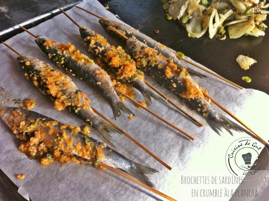 Brochettes de sardines en crumble à la plancha3