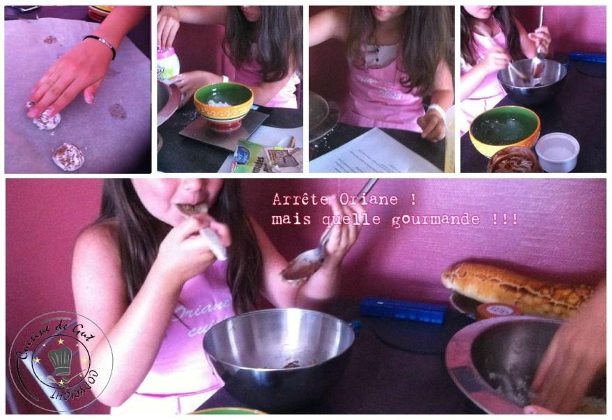 Craquelés pâte à tartiner lemon curd Cassandra Oriane