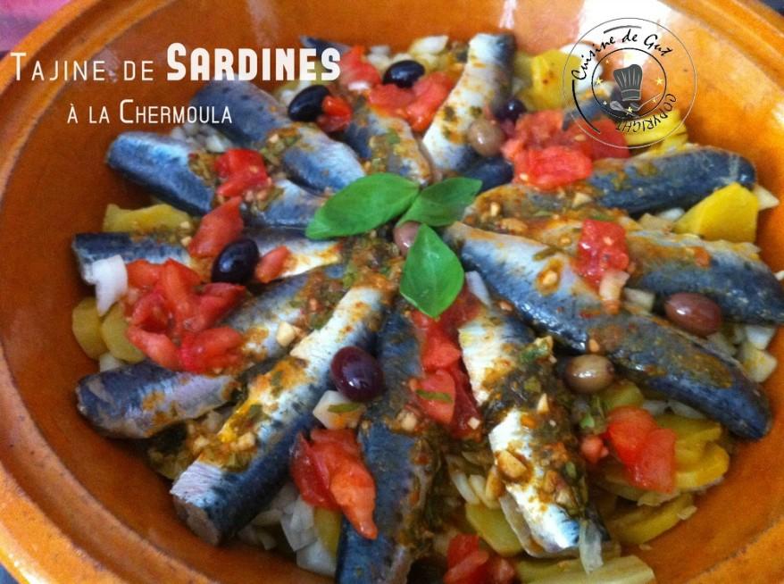 Tajine de sardines la chermoula cuisine de gut - Cuisiner des filets de sardines fraiches ...