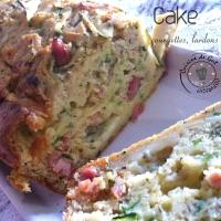 Cake Courgettes Brebis et lardons