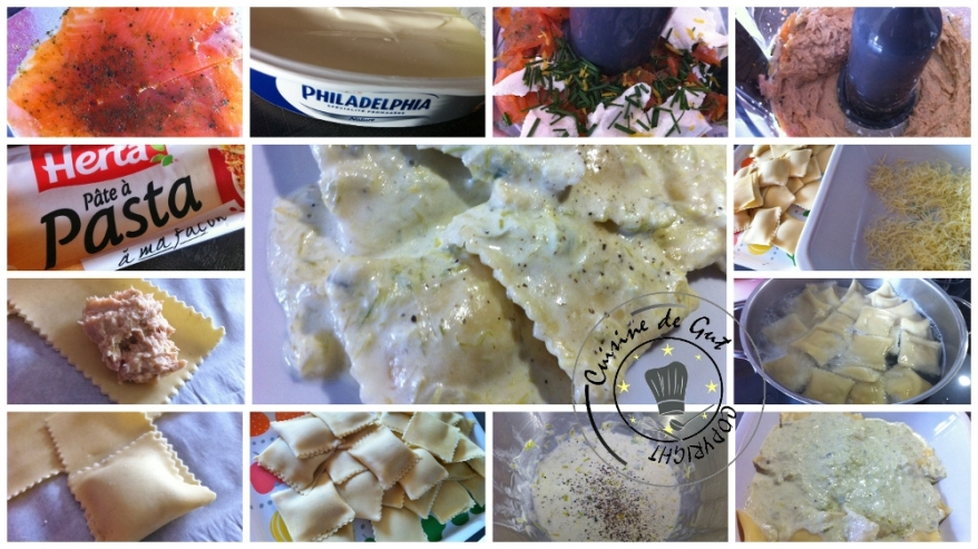 Raviolis de truite fumée au poivre de Sichuan et sa crème de poireaux3