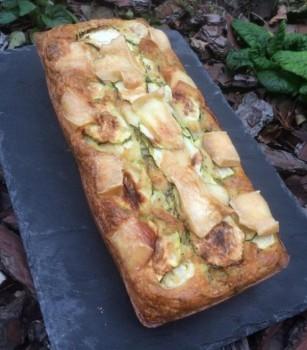 Cake lardons brebis délices de pommes stéphanie
