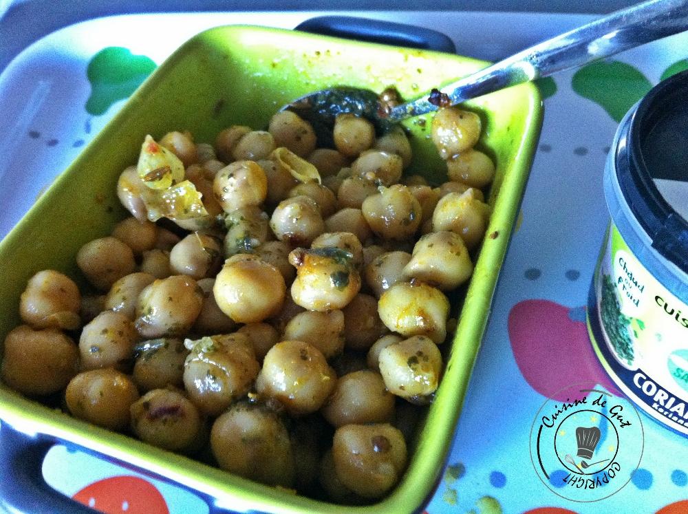 Pois chiches marinés au curry et coriandre2jpg