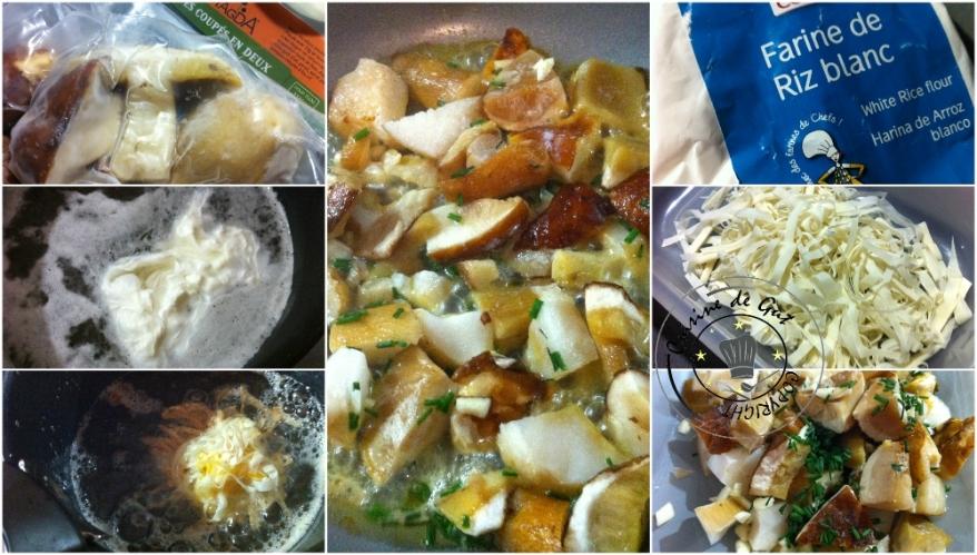 Cèpes en persillade et son oeuf frit3