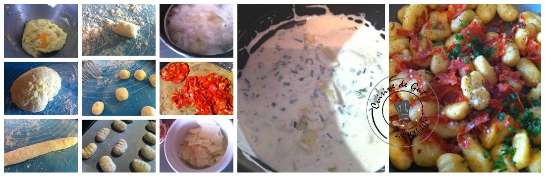 Gnocchis Chorizo parmesan3