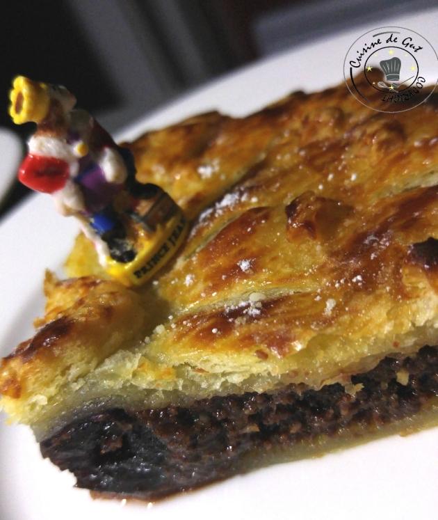 Galette chocolat Cerise Amarena