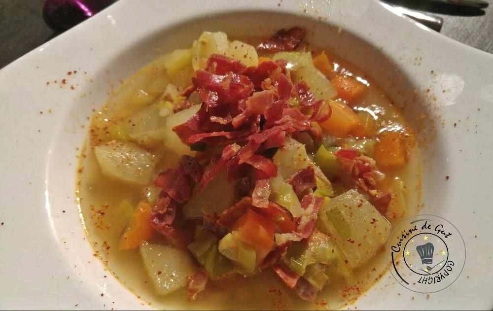 Soupe rustique massalé et citronnelle1
