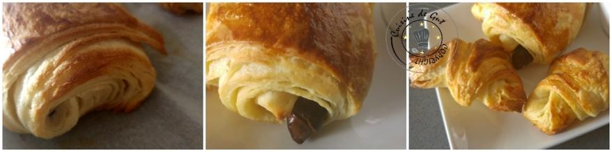 Viennoiseries en pâte escargot 2