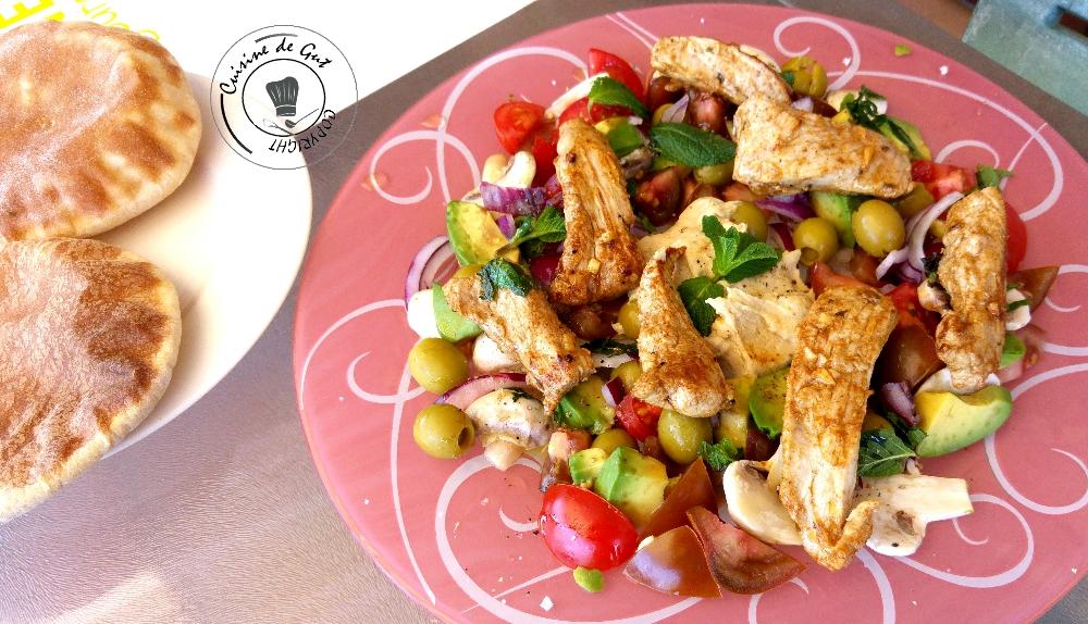 Plancha d aiguillettes de porc la libanaise cuisine de gut for Cuisine 0 la plancha