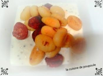 Gnocchis parmesan chorizo Christelle poupoule
