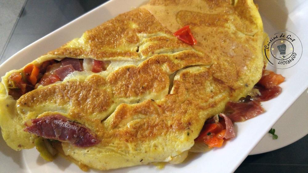 Omelette Basque