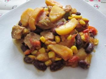 Porc à la mexicaine de brimbelle du blog La cuisine au village