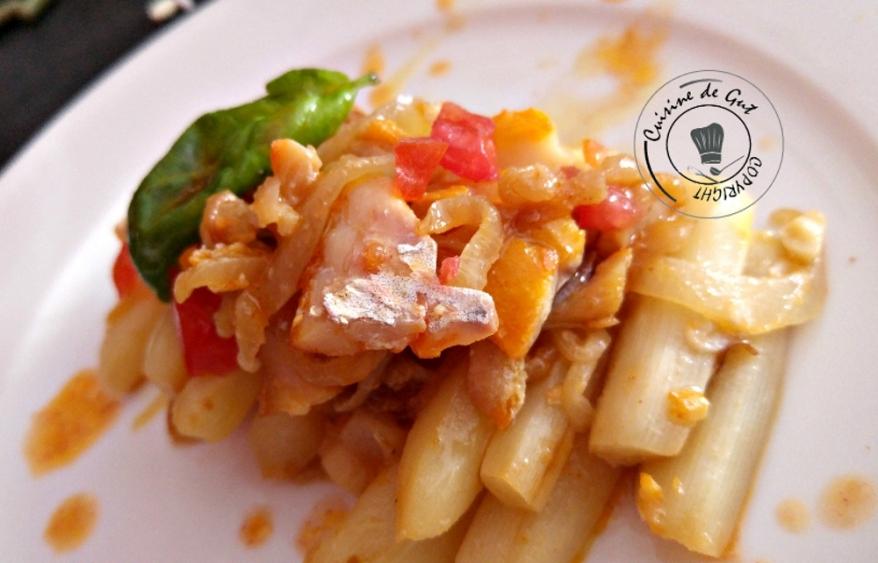 Asperges et haddock sauce xipister1