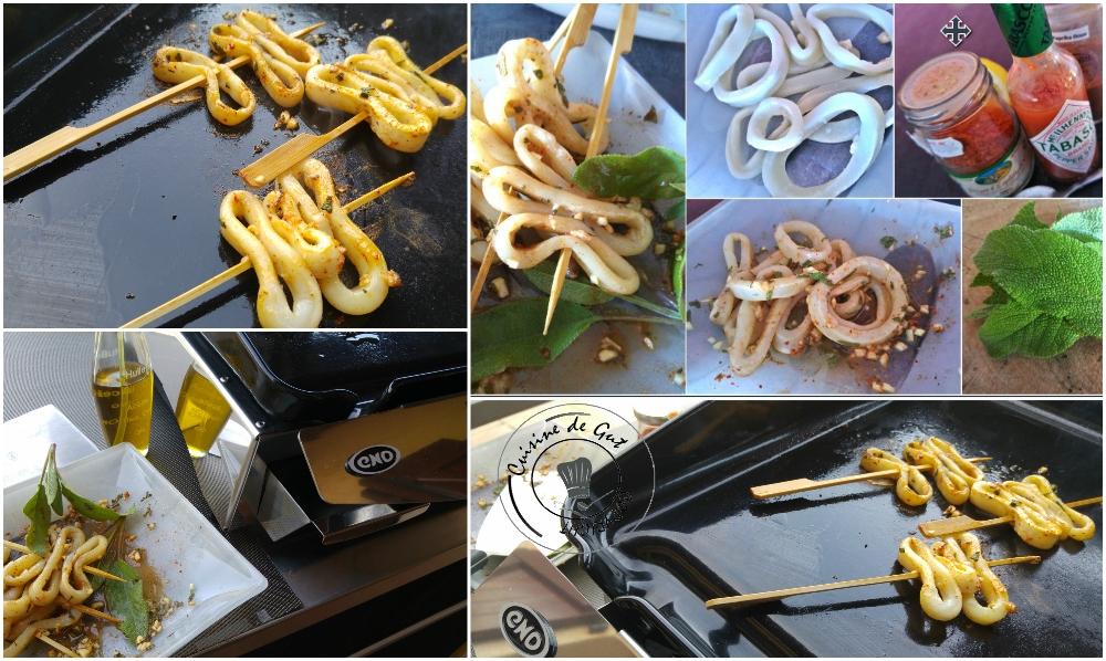 Brochettes de calamar sauge piment et paprika3