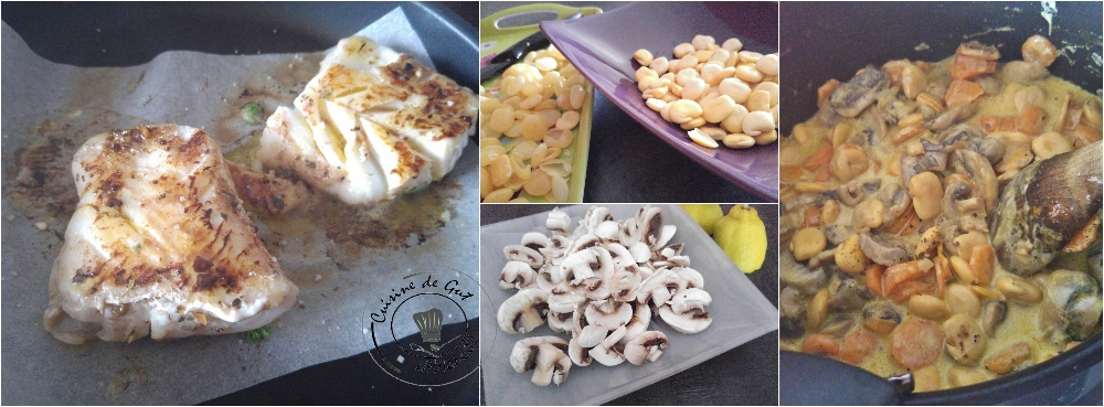 Cabillaud épicé légumes et graines de lupin4
