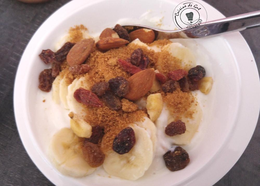 Fromage blanc banane et spéculoos aux fruits secs2