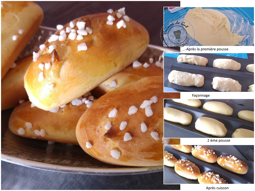 Petits pains au lait au sirop d'érable et sans beurre3
