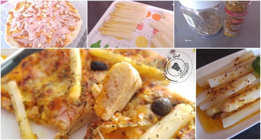 Pizza asperges jambon au colombo4