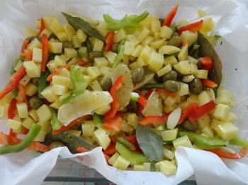 Pommes de terre àla crétoise KATHIA