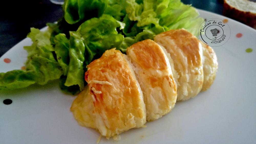 Roulés au fromage aux oeufs durs
