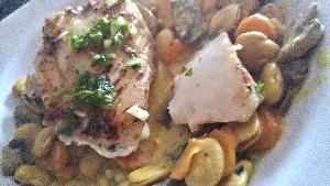 Cabillaud épicé légumes et graines de lupin3