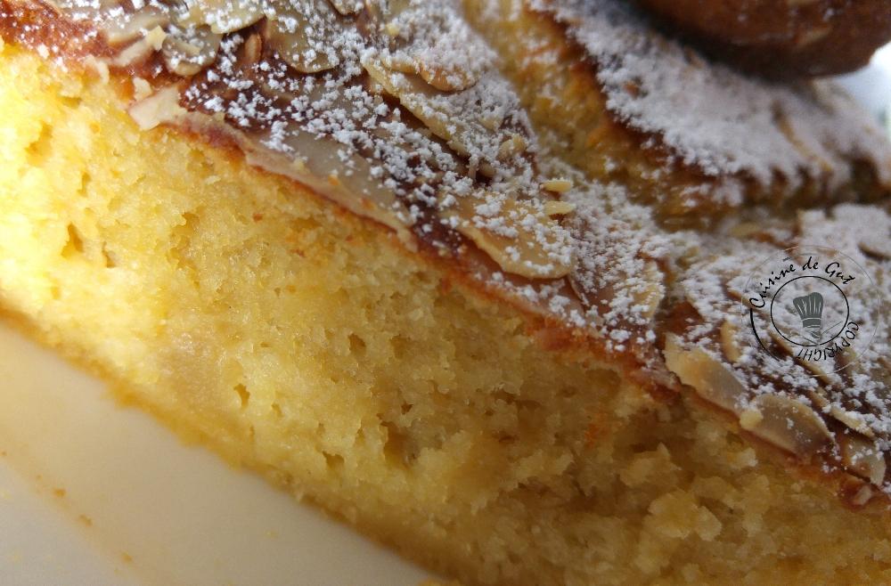 Gâteau amandes compote de pommes1