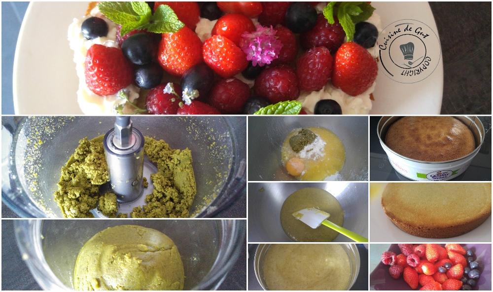 Gâteau fruité amandes pistaches3