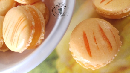 Macarons mangue passion2
