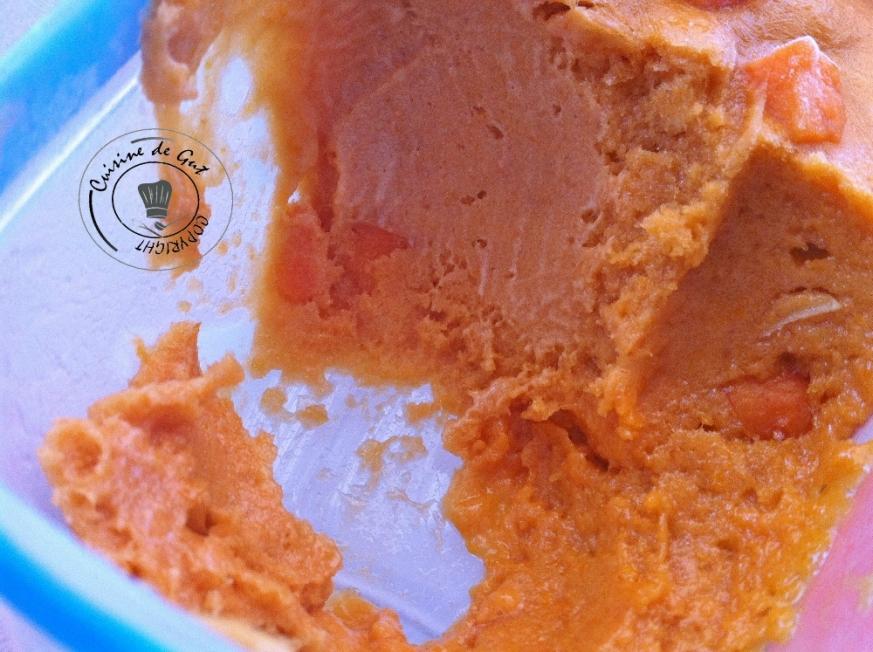 Sorbet abricot et amande amère