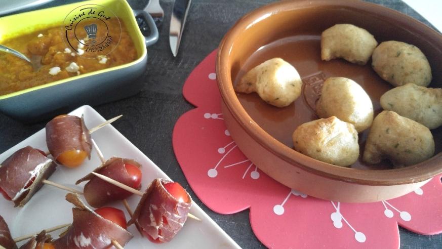 Tartinade de tomates ananas épicées