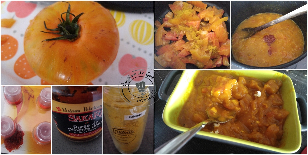 Tartinade de tomates ananas épicées pour un apéro sympa1