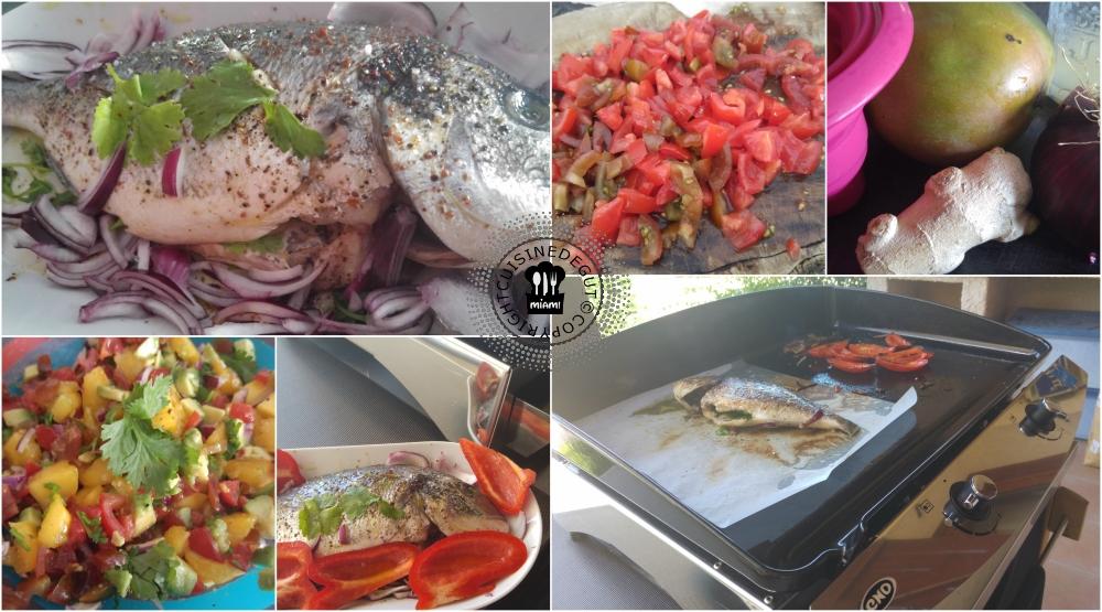 Dorade à la plancha au sumac et sa salsa2