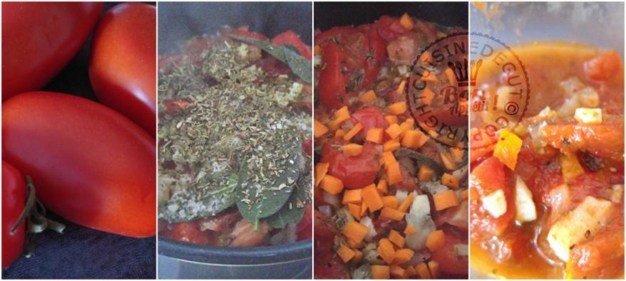 Sauce tomate maison à la sauge et herbes de provence2