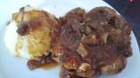 jarret-de-veau-et-puree-de-panais-sauce-tomate-aux-cepes
