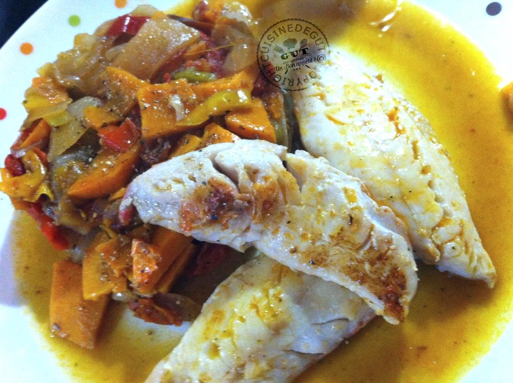 Rougets aux patates douces piment d espelette et coriandre cuisine de gut - Bouture de patate douce ...