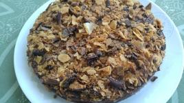 gateau-croustillant-chocolat-et-poires
