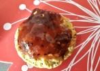 Confiture framboises kiwis aux épices spéculoos