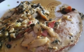 Escalope de veau et légumes tandoori1