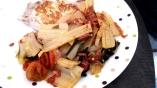 Poêlée de blettes au chorizo lardons et tomates confites1